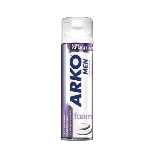 ARKO TRAŞ KÖPÜĞÜ 200ML EXT.SENSİTİVE