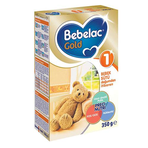 BEBELAC GOLD 350GR NO:1