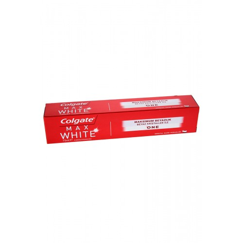 COLGATE DM 75ML MAX BEYAZLIK ONE
